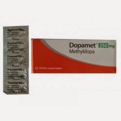 DOSIS OBAT DOPAMET  Tablet (Methyldopa)