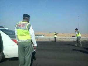 Gulf, UAE, Dubai, Drivers, Gift, Best drivers, Traffic police, Fine, Draw, Public,