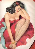 Vintage Pin Up Art