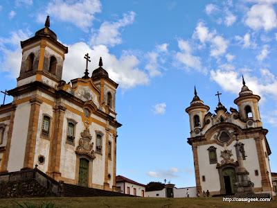 Descobrindo Mariana - Praça Minas Gerais