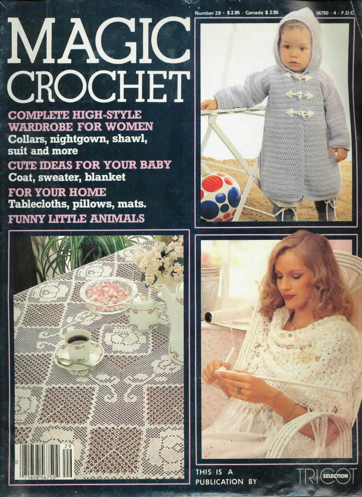 Magic Crochet No. 29 ~ Free Crochet Patterns