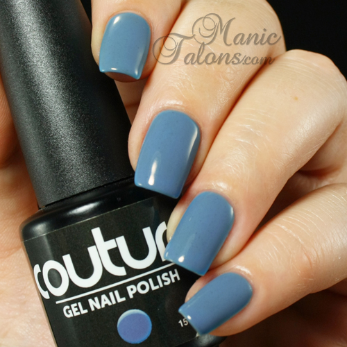 Couture Gel Polish Stiletto Blues Swatch