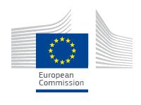 Logo Komisji Europejskiej