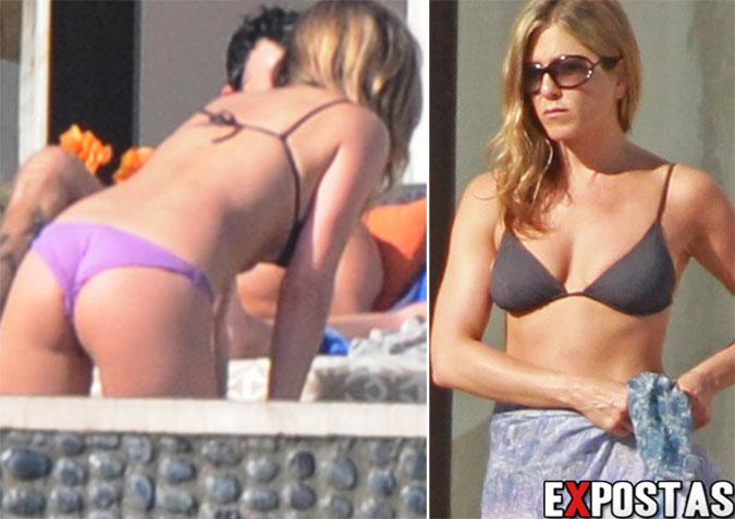 Jennifer Aniston: Bikini candids em Los Cabos, México - 27 e 31 de Dezembro de 2012