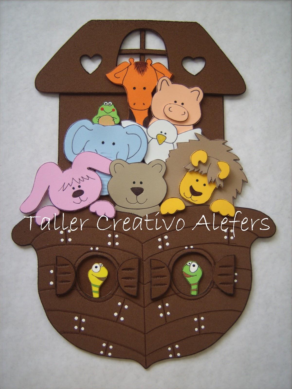 ALEFERS TALLER CREATIVO.: ARCA DE NOE