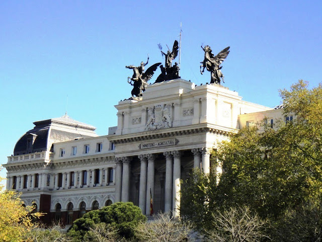 Madrid monuments