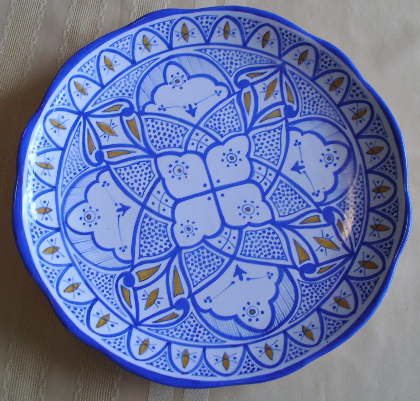 Pintura y cer mica platos de cer mica for Platos de ceramica