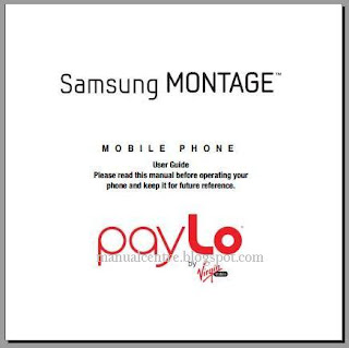 Samsung Montage manual
