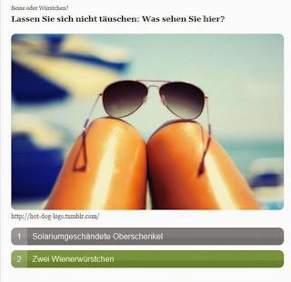 Zentralverband Naturdram, Knackwust; Knackwurstwissen: Beine oder Würstchen?