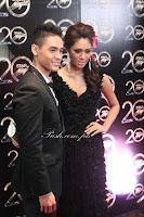 Carlo Romero and Wendy Tabusalla