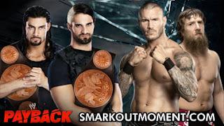 Payback PPV Daniel Bryan Heel Turn Randy Orton Payback PPV