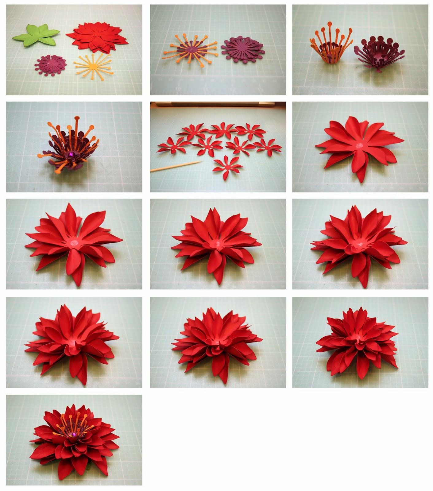 Bits Of Paper Mum 3d Paper Flowers