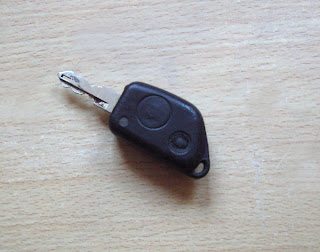 photo of infrared key fob