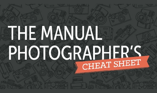 Image: The Manual Photographer's Cheat Sheet
