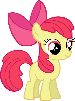 My Little Pony Friendship Is Magic Baby Apple Bloom Doodlecraft: Duct Tape...
