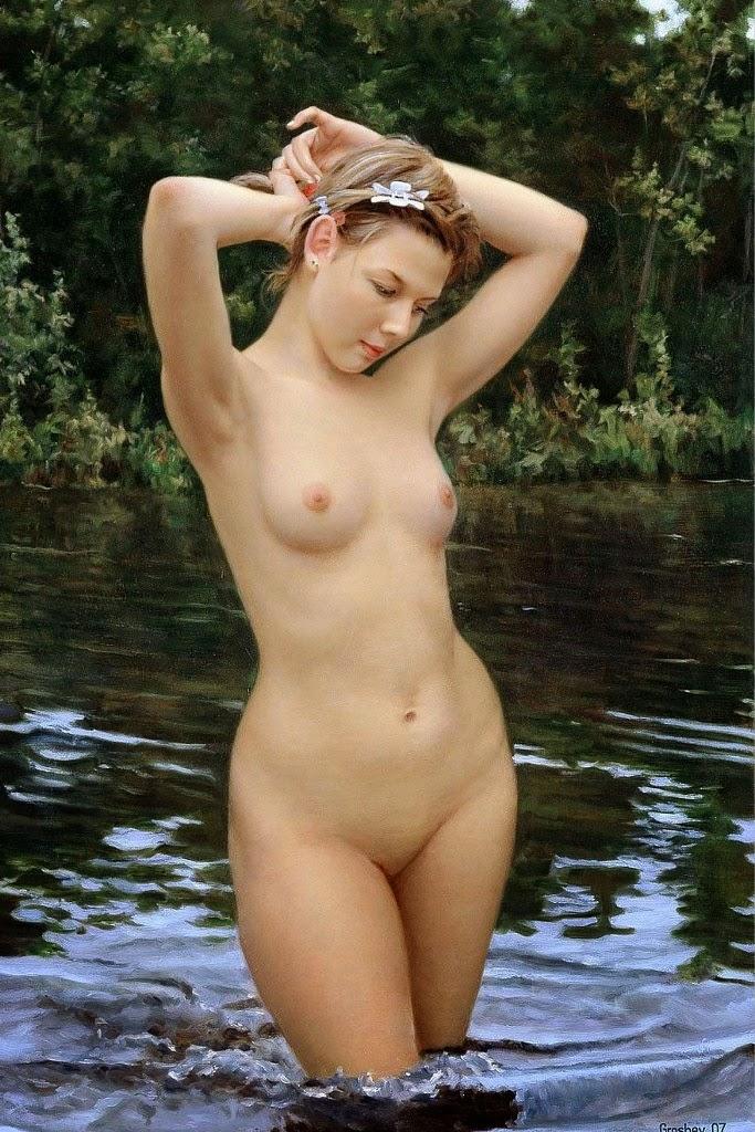mujer-cuadro-al-oleo