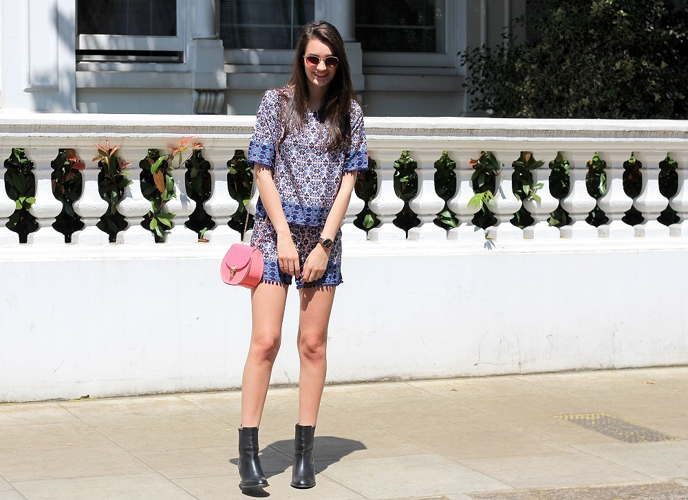 peexo fashion blogger wearing co-ord for summer from F&F