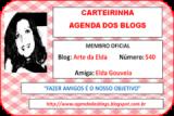 Carteirinha: Agenda dos Blogs