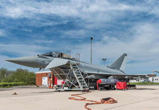 Eurofighter Typhoon with Storm Shadow missile