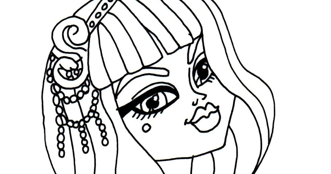Cleo de nile coloring pages