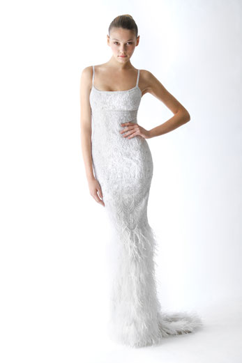 This Gown Is Called Emmy And A Stunning Embroidered Crepe Feather Bottom Slip I Have Been Searching For My Perfect Dress Ages When