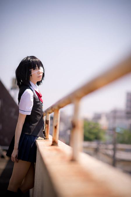 CosRain.Com HAYASE AMI's COSPLAY - Mei Misaki