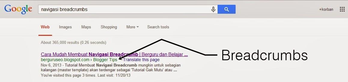 contoh+breadcrumbs+terindex+google