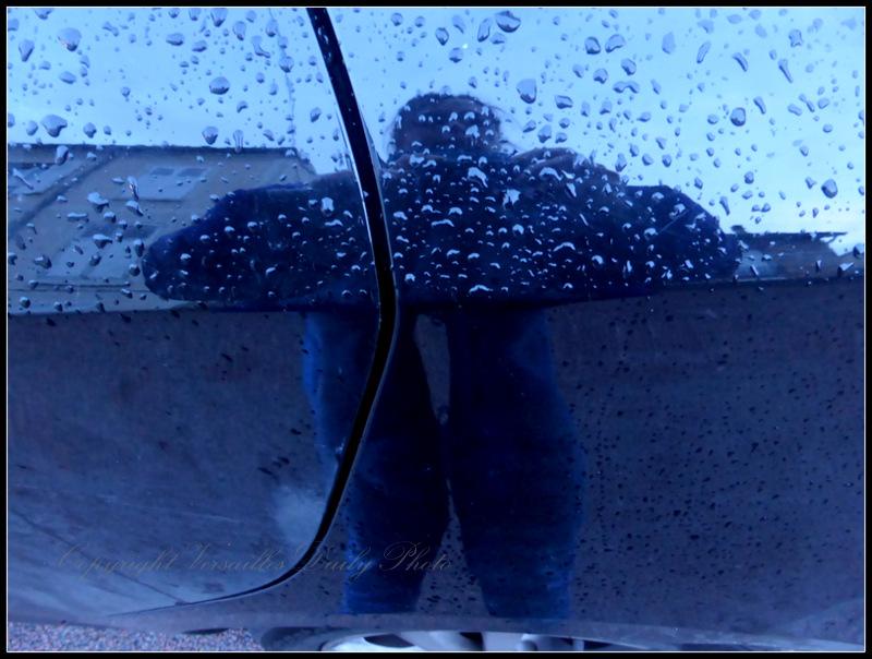 Rainy VDP selfie