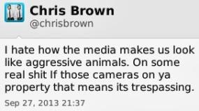 Chris Brown Says Kanye Should Hire Street Niggas(Thugs).
