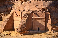 Mada'in Saleh in Saudi Arabia