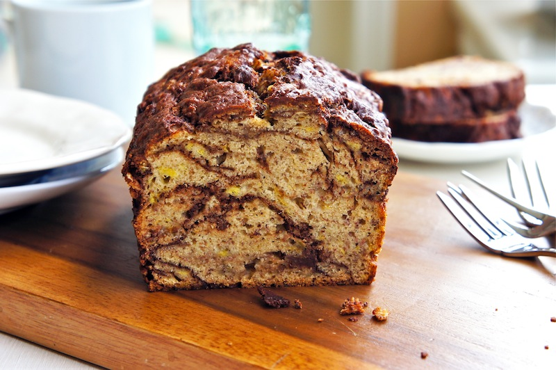 Seasaltwithfood: Banana Bread With Chocolate Chips