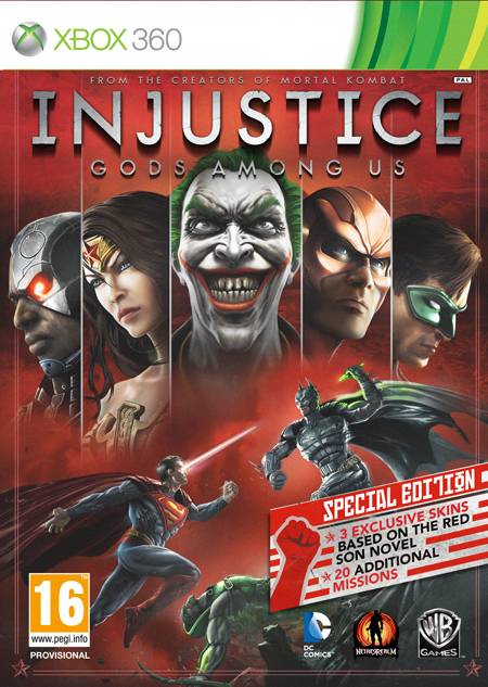 Injustice - Special Edition de XBOX 360