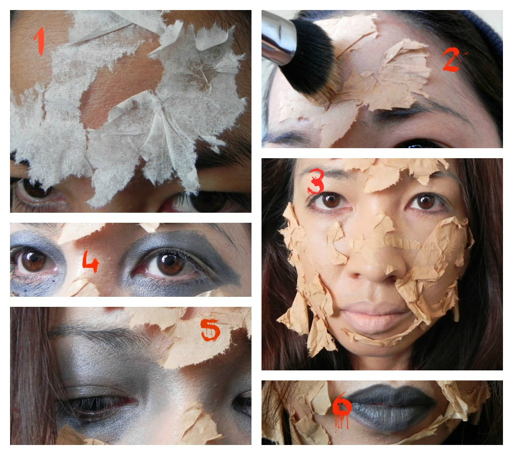 Night of the Living Zilla: Easy Scary Halloween Makeup - How To Do Easy Halloween Makeup