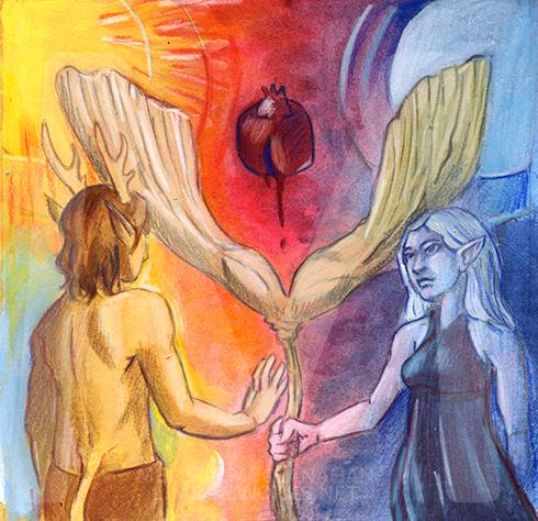 Balance by Enchanted Visions artist, Melissa McClanahan