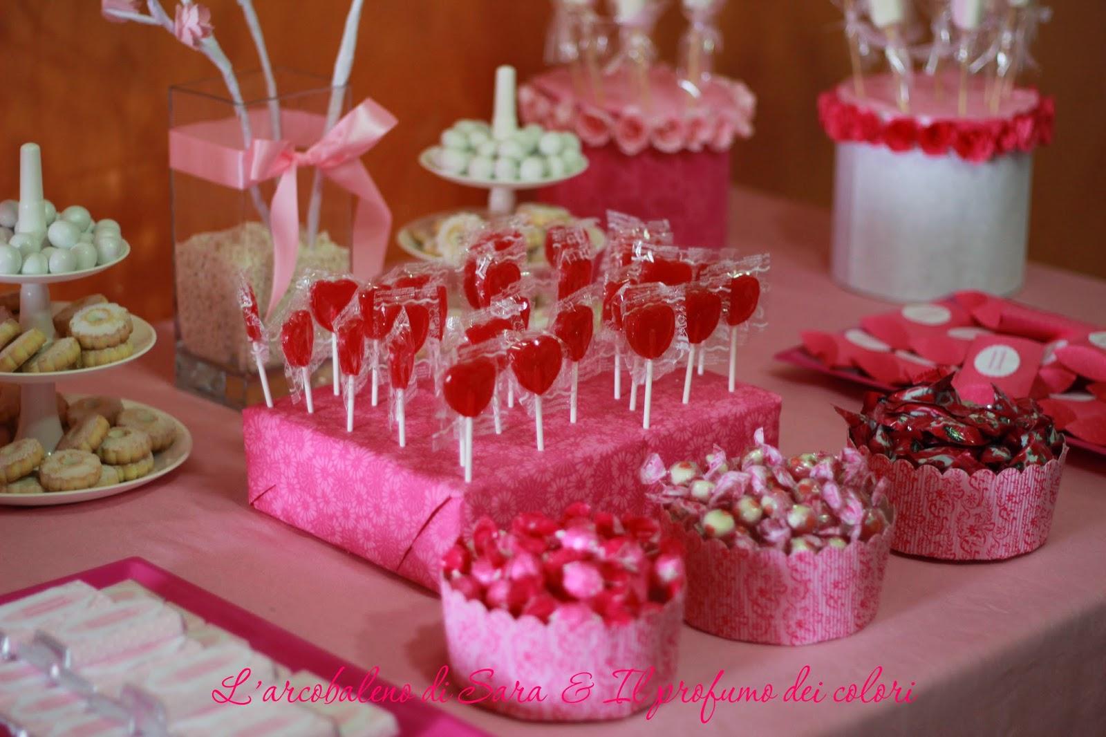 tavolo caramelle prima comunione