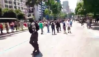 Vídeo | No Rio de Janeiro uma cena com arrebatador significado político na luta de classes