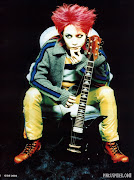 Being one of a row of famous guitarists in the world of Japanese music, hide .
