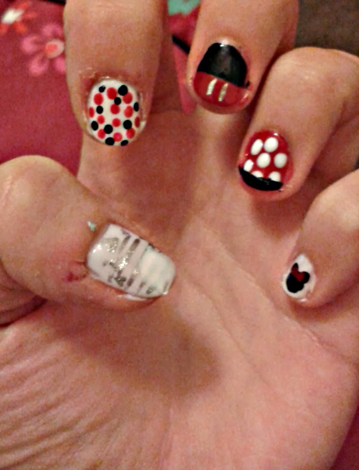 Disney Inspired Nail Designs