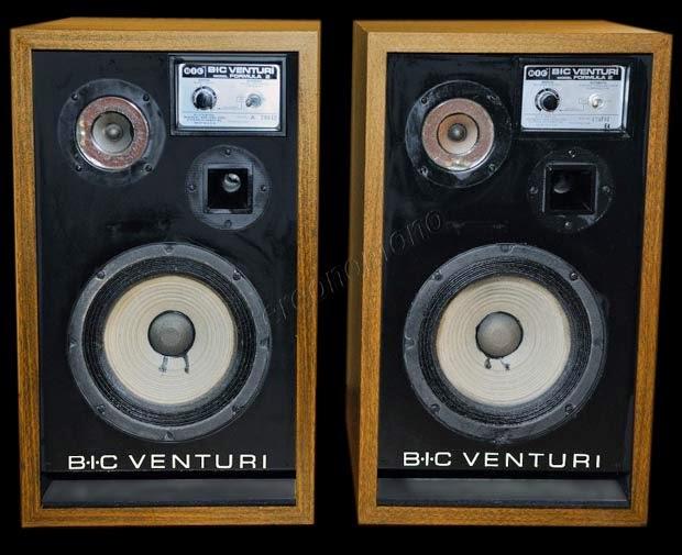 speakers Vintage bic
