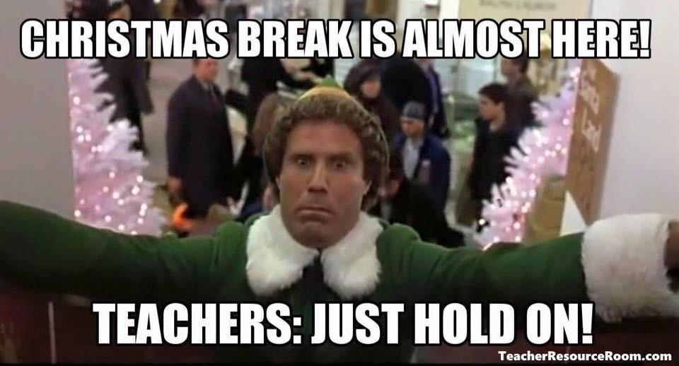 Teachers winter break
