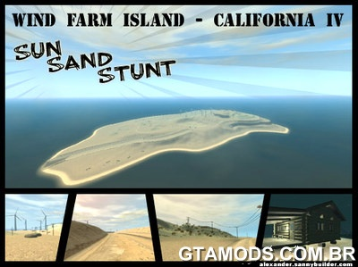 Wind Farm Island - California IV