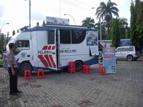 Layanan SIM Keliling