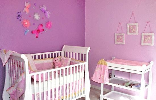 Lilibaby ideas para decorar cuarto de ni a - Decoracion para habitacion de bebe nina ...
