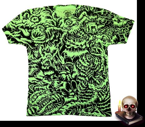 http://shop.scumbagsandsuperstars.com/product/monster-battle-allover-green