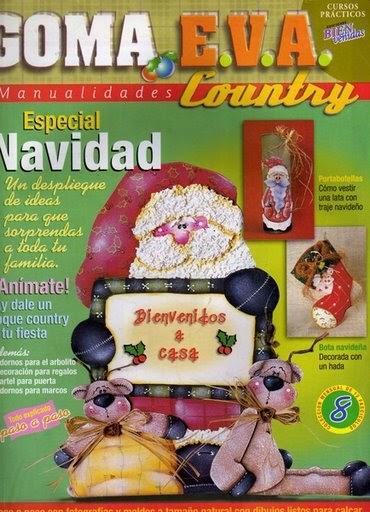 Goma eva navidad el rinconcito de las manualidades de rosi for Manualidades con goma eva para navidad