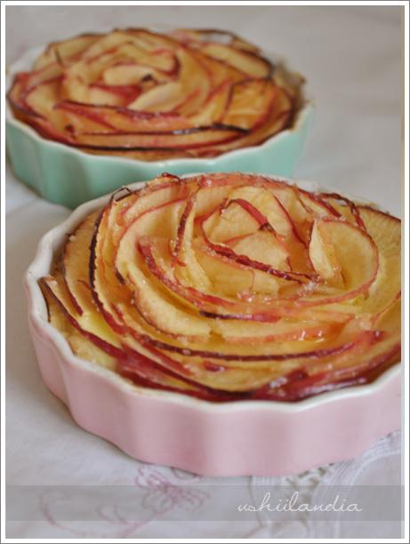 tarta apple rose