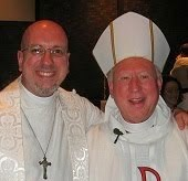 Bishop Roger and Father Todd at the ADGL Synod