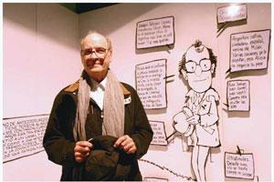 La Ragazza una vez tuvo la oportunidad de entrevistar a Quino
