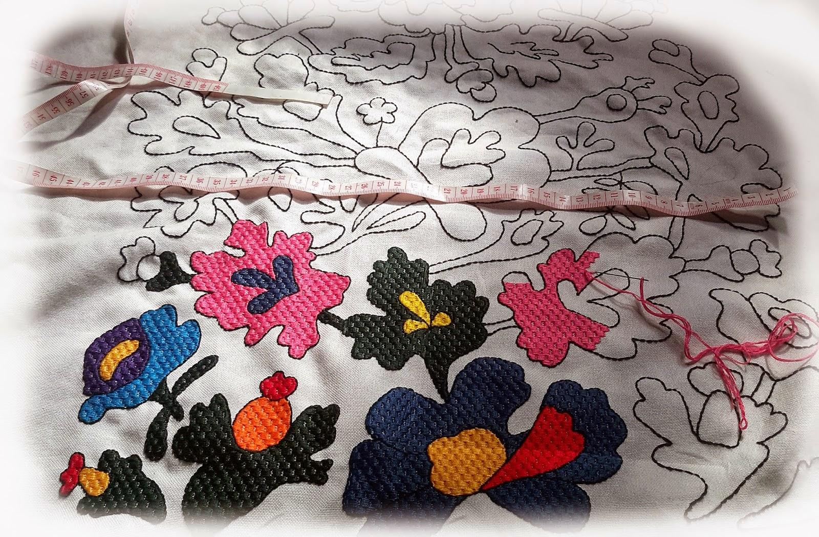 вишивка крестом схеми детских сорочек