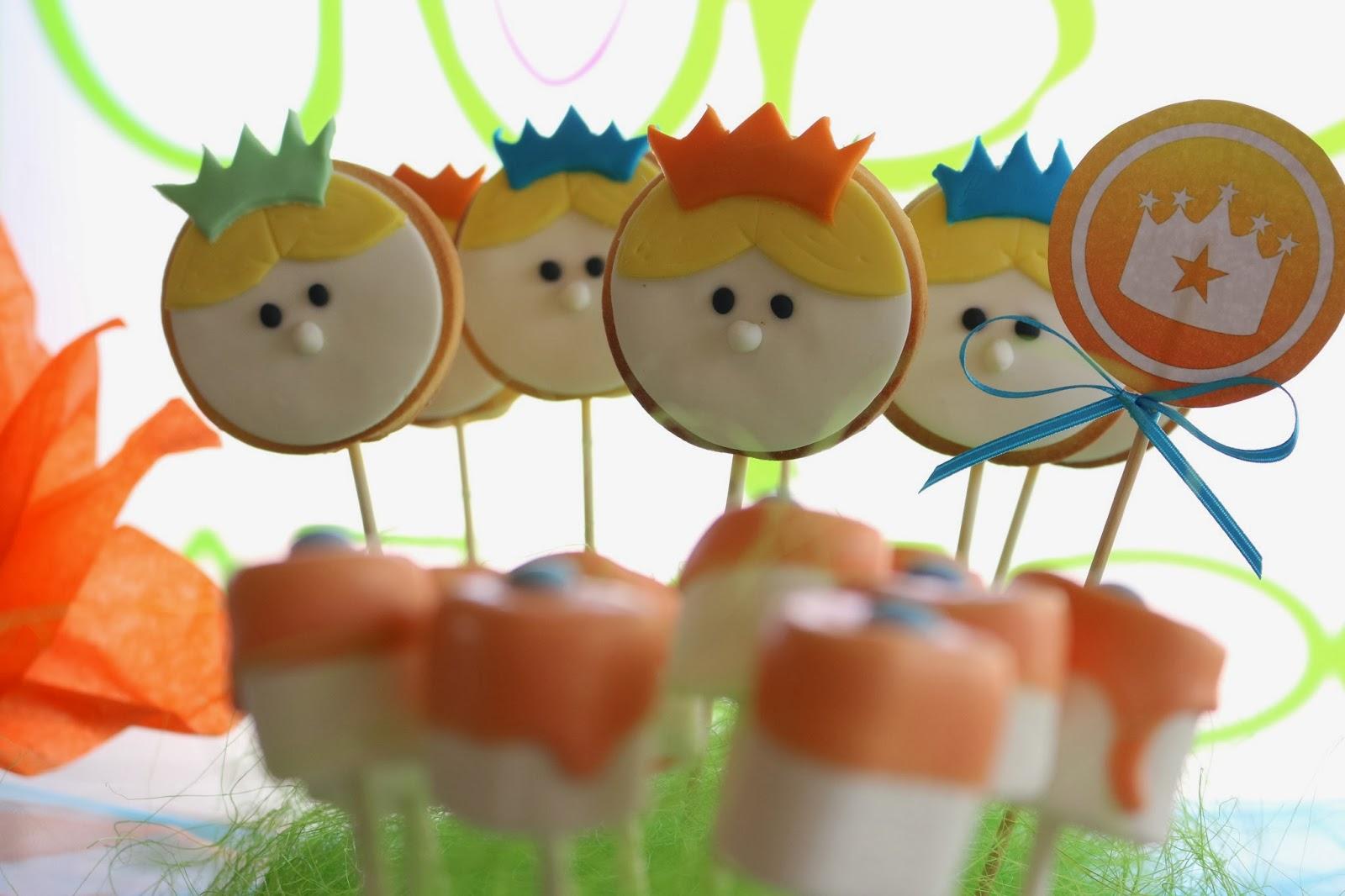 biscotti decorati principe